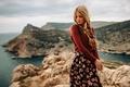 Picture Girl, Look, Landscape, Crimea, Braids, Tetyana Prokopchuk