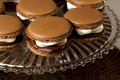 Picture background, widescreen, Wallpaper, food, wallpaper, cream, widescreen, background, sweet, full screen, HD wallpapers, chocolate, macaron, ...