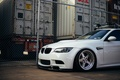 Picture white, BMW, дорога4.
