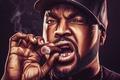 Picture Chain, Ice Cube, Rapper, Male, Cigar