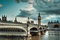 Picture Thames, River, westminster bridge, London, England, London, Big Ben, England