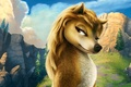 Picture forest, wolf, Kate, Cartoon, Alpha and omega