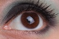 Picture macro, look, eyes, eyelashes, makeup, the pupil, girl, cosmetics