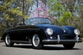 Picture background, black, Porsche, Roadster, Porsche, classic, the front, 1955, Pre-A, Speedster, by Reutter, 356