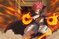 Picture battlefield, powerful, dragon force, Etherias Natsu Dragneel, combat, oriental, asiatic, mahou, asian, red hair, war, ...
