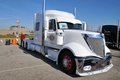 Picture white, truck, international, lonestar