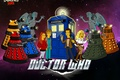 Picture The Simpsons, Eleventh Doctor, The Eleventh Doctor, The simpsons, TARDIS, Far, space, parody, Weeping Angels, ...