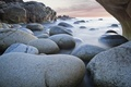 Picture sea, smoothness, nature, rocks, stones, excerpt