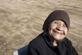 Picture smile, portrait, the old woman
