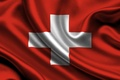 Picture flag, switzerland, Switzerland