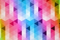 Picture pattern, colors, rhombus