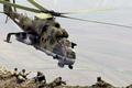 Picture the sky, war, flight, mi-24p