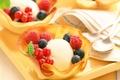 Picture berries, raspberry, the sweetness, food, blueberries, ice cream, dessert, currants, food, sweet, dessert, berries, ice ...