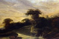Picture nature, Jacob de Wet the Elder, Landscape with a River at the Foot of the ...