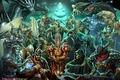 Picture people, heroes, demons, skeletons, characters, Heroes of might and magic