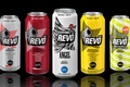 Picture banks, drink, energetic, revo energy