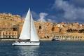 Picture sea, Malta, yacht, photo, home, the city, sailboat
