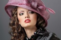 Picture Hat, makeup, hairstyle