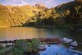 Picture river, Austria, Alps
