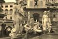 Picture Palermo, Italy, Sicily, the fountain of shame, fountain Pretoria
