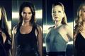 Picture Summer Glau, Lena Headey, Shirley Manson, Terminator:The Sarah Connor Chronicles, Leven Rambin, Terminator:the battle for ...
