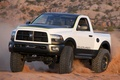 Picture white, Pickup, dodge, power, pick-up, wagon, ram
