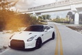 Picture White, Tuning, Nissan, Nissan, gtr