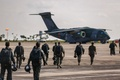 Picture KC-390, FAB, Embraer, Brazilian Air Force, Force Air Brazilian, military aircraft, paratroopers