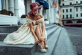 Picture Unclosed sexuality, Russia, girl, hat, street style, the city