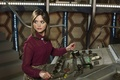 Picture blouse, Clara Oswald, actress, brown hair, levers, TARDIS, Jenna Coleman, Jenna Coleman, panel, Doctor Who, ...