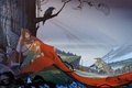 Picture pair, tree, fantasy, game wallpapers, army, The Banner Saga, Saga