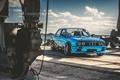 Picture E30, before, BMW, blue chrome, Blue Chrome, Bmw, front, rails