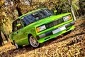 Picture Lada, Autumn, Auto, Tuning, Trees, Lada, Park, Leaves