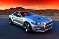 Picture road, desert, Rocket, Auto, Galpin, 2016, the concept, Sports, sunset, Mustang, Ford