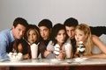 Picture the series, Jennifer Aniston, actors, Matthew Perry, dessert, characters, Comedy, sitcom, Ross Geller, Lisa Kudrow, ...