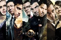 Picture the actors of the series, Heroes, Heroes, The series, Movies
