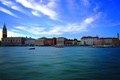 Picture Italy, home, The Doge's Palace, sea, channel, tower, Venice, the bell tower of St. Mark's ...