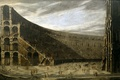 Picture picture, The Prospect Of A Roman Amphitheatre, Colosseum, Viviano Codazzi, architecture, people