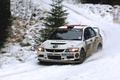Picture race, Winter, White, Snow, Sport, Mitsubishi, Lancer, WRC, Rally, Rally, Lancer, The front