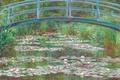 Picture landscape, pond, Lily, picture, Claude Monet, Japanese Bridge