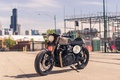 Picture british, bike, caferacer, BONNEVILLE, city, Triumph, classic, urban, moto