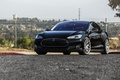 Picture car, black, Tesla, Model S, s85