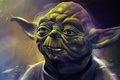 Picture Star Wars, art, yoda, jedi