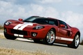 Picture red, Ford, tuning, Hennessey, supercar, the front, tuning, the sky, GT700, Ford