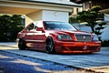 Picture red, toyota, crown, crown, tuning, machine