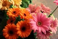Picture flowers, flowers, bouquet, yellow, bright, bright, pink, pink, bouquet, orange, orange, beautiful, beautiful, yellow